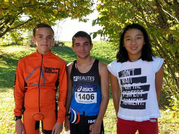 Baptiste entouré de Loann et Louise pour nos jeunes !