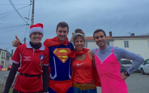 Sophie, Warren, Céline et Victor dans le thème de cette corrida festive !!
