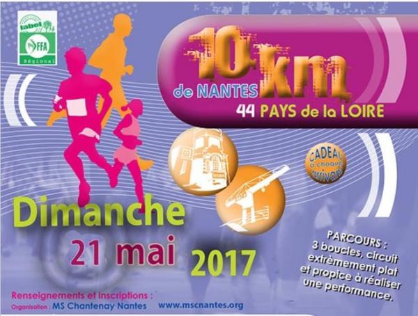 10 Kms Nantes 2017