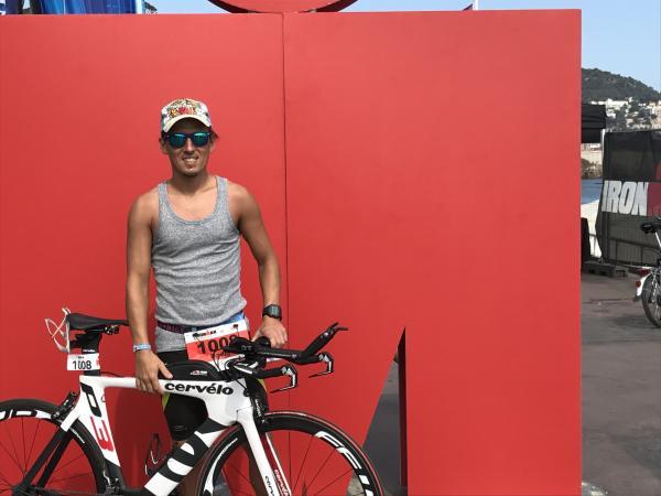 David Ironman Nice 2017