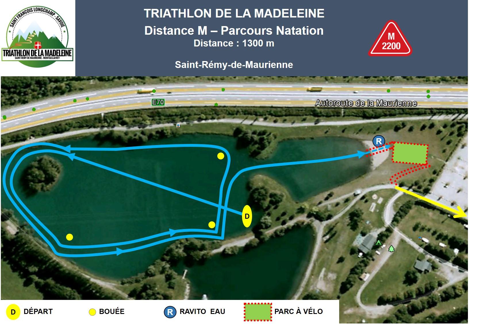 triathlon madeleine