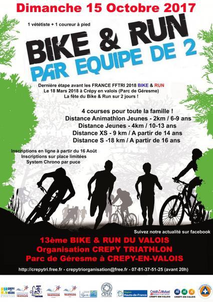 bike and run du valois