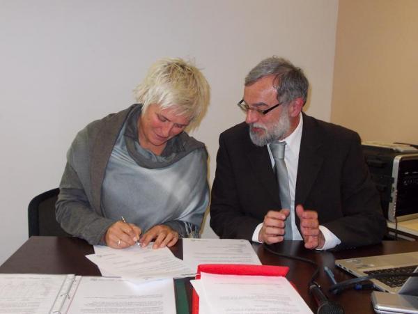 AG Ligue 2014 - signature UNSS