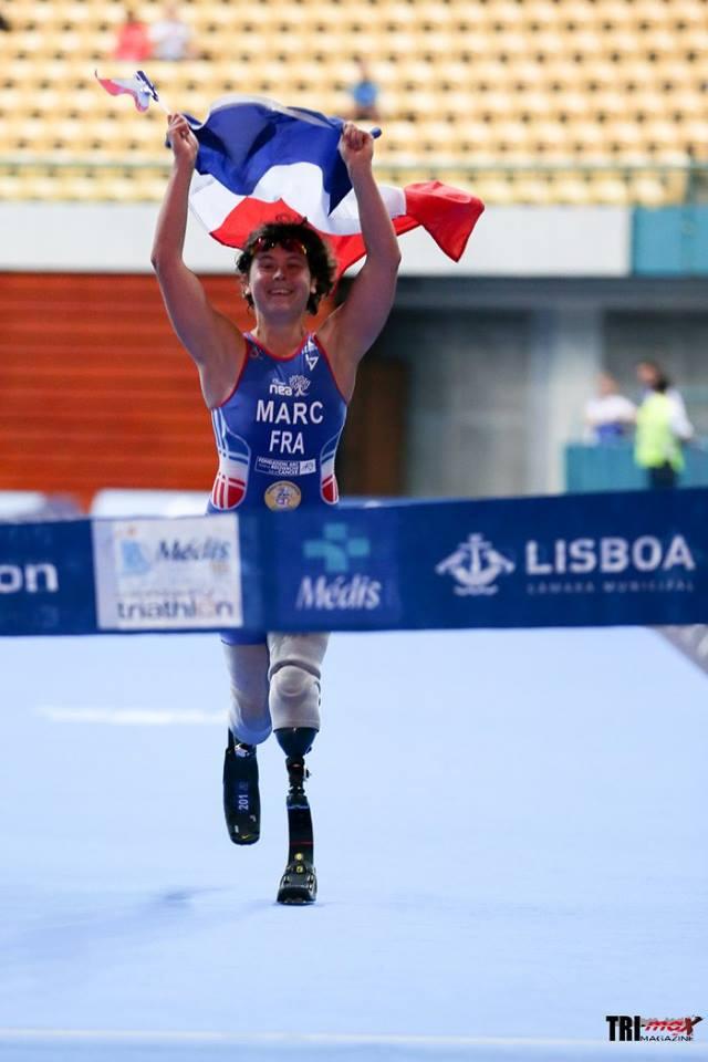 Elise MARC - Championne d'Europe PT2