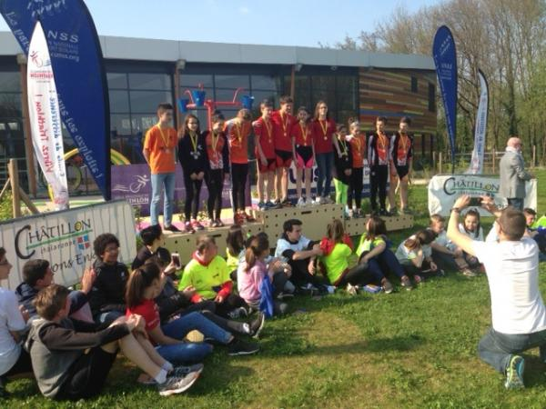 C Acad UNSS Aquathlon Lyon