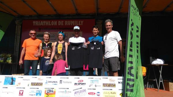 Podium - championnat de ligue - Triathlon distance L