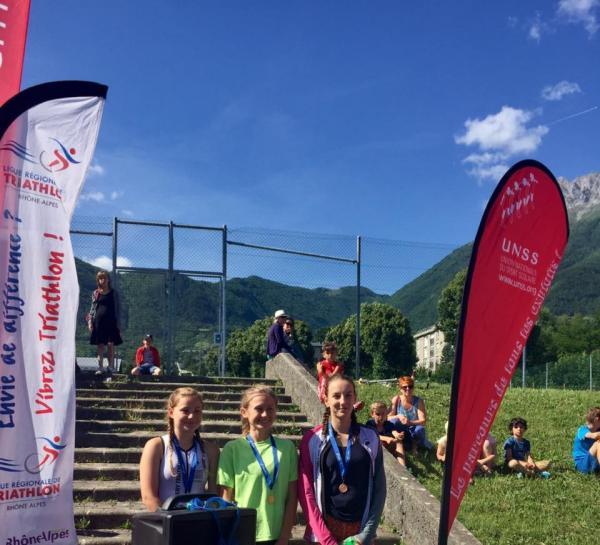 Aquathlon UNSS Savoie - 2017