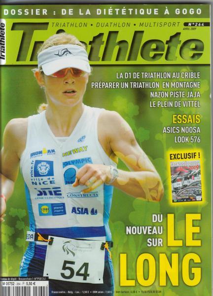 Triathlète avril 2009 couv.