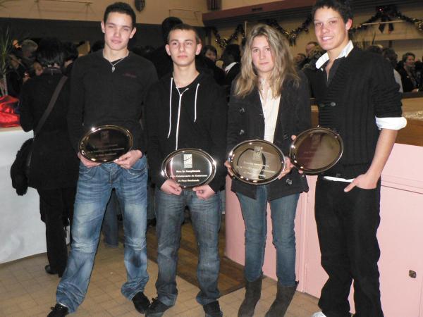 Récompenses CCPH 2010
