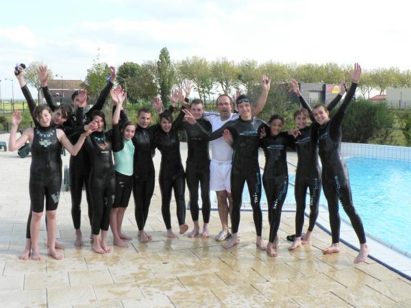 Photo équipes duathlon & triathlon piscine houdan 1