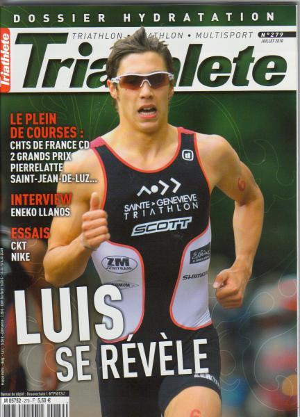 Triathlète de juillet 2010 couv.