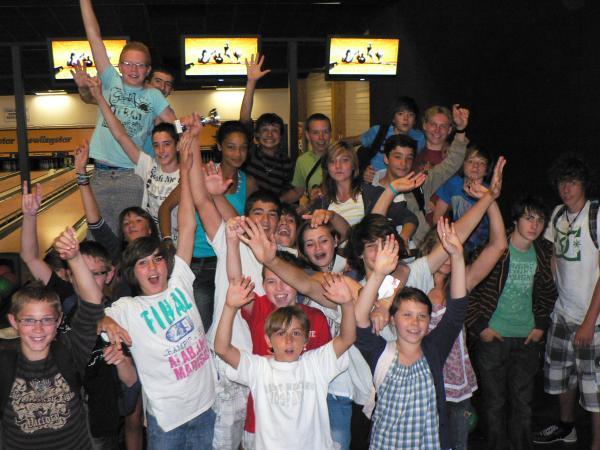 Photo bowling fin d'année 2011