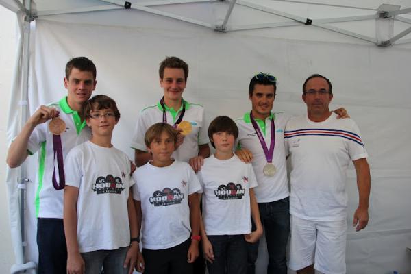 médaillées Olymiques à Sartrouville avec Houdanais