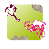 logo run & bike