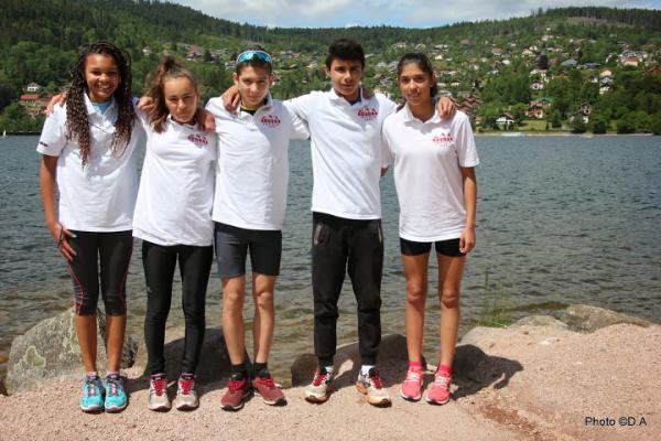 équipe duathlon 2014