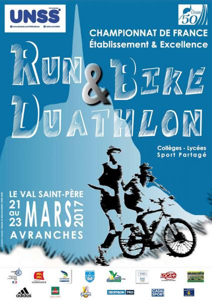 Affiche définitive RUN & Bike duathlon 2017