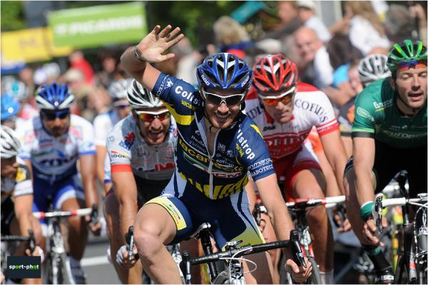 Victoire Romain Feillu au tour de Picardie