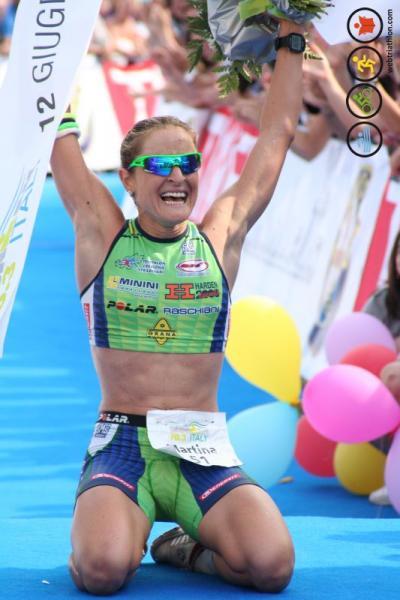 Martina Dogana Victoire 70.3 Pescara 2011