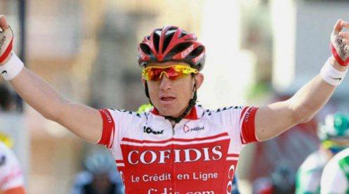 Victoire de samule Dumoulin à Paris-Corrèze 2011