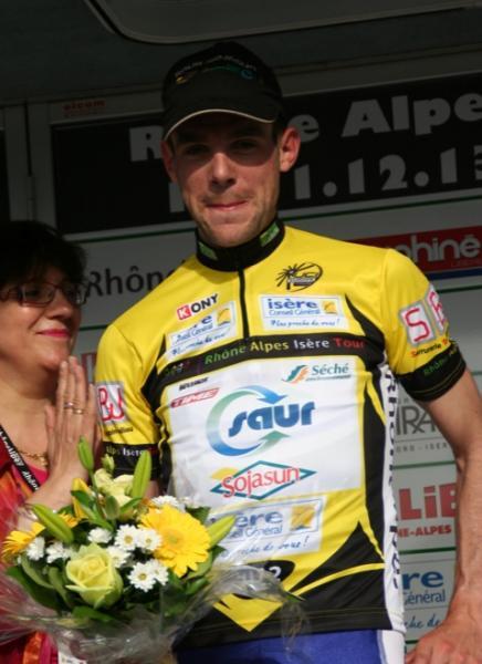 Victoire de Paul Poux sur le Rhône Alpes Isère Tour