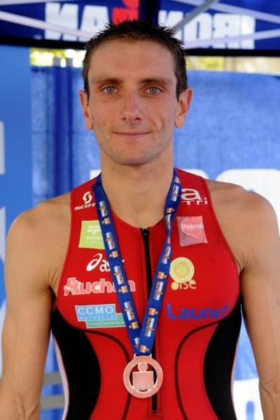 Cyril Viennot vainqueur du 70.3 d'Aix en Provence