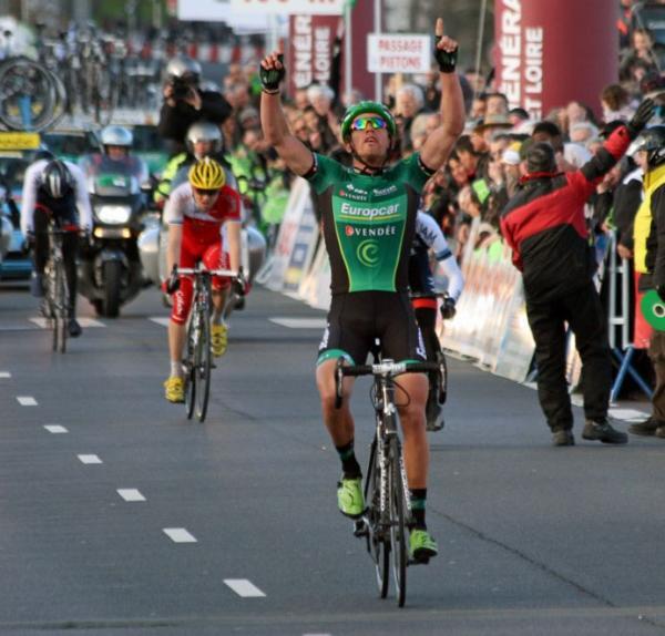 Damien Gaudin vainqueur de Cholet - Pays de Loire