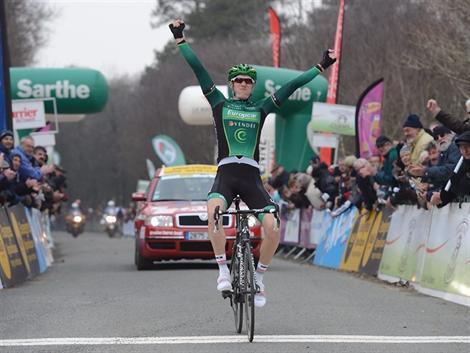 Victoire de Pierre Rolland sur la 3ème étape du Circuit de la Sarthe
