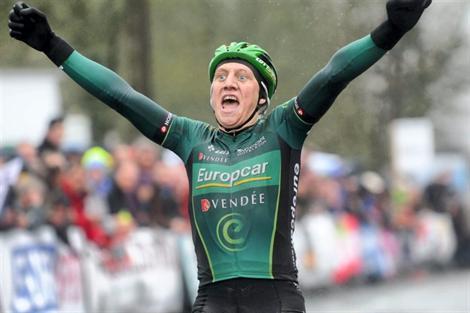 Victoire de Cyril Gautier au Tour du Finistère 2013