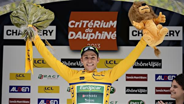 Victoire de David Veilleux 1ère étape Dauphiné Libéré 2013