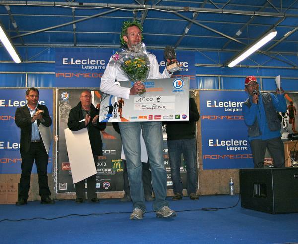 Victoire de Sébastien Souffleux à l'IronMédoc