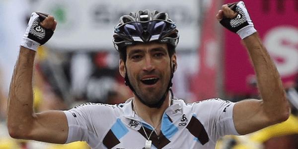 Christophe Riblon vainqueur à l'Alpes d'Huez 2013
