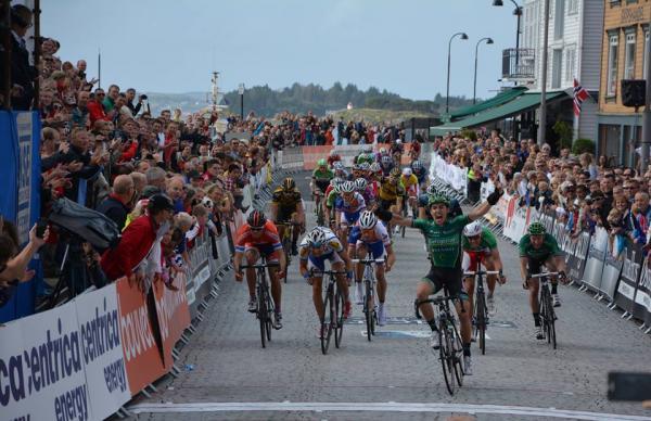 Angelo Tulik vainqueur de la 4ème étape du Tour des Fjords