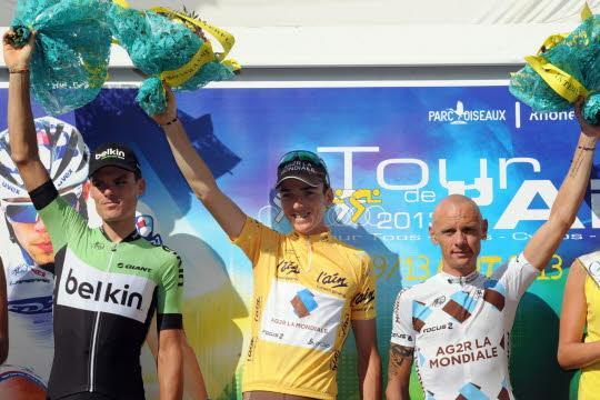 Romain Bardet vainqueur du Tour de L'Ain 2013