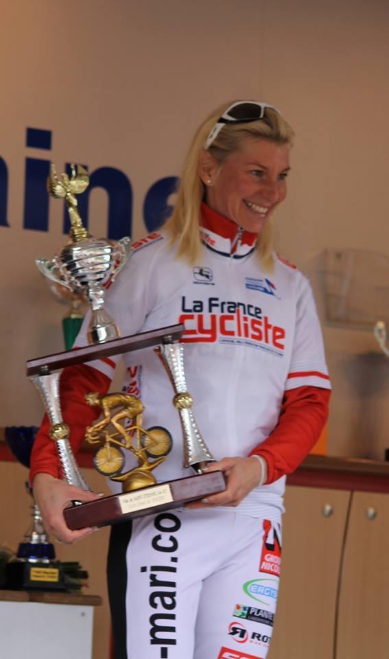 Victoire de Christel Ferrier sur la 1ère manche du challenge France-Cycliste 2013