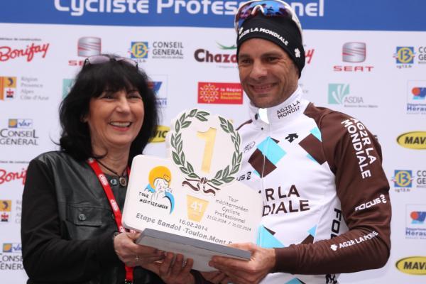 JC Peraud vainqueur au Mont Faron 2014