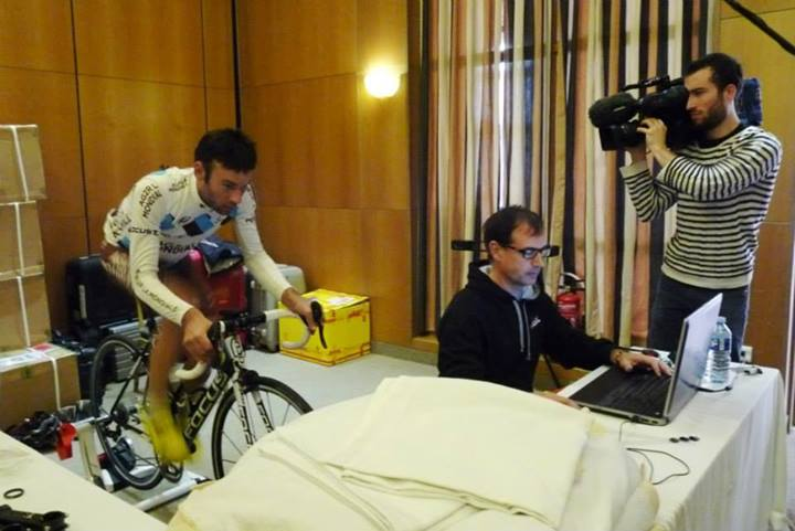 Positionnement JC Peraud stage Oliva 2014