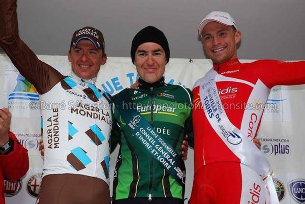 Victoire d'Angelo Tulik sur la Route Tourangelle