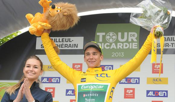 Victoire de Bryan Coquard 1ère étape Tour de Picardie