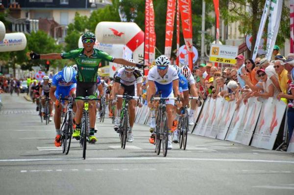 Yohann Gène vainqueur dernière étape des Boucles de la Mayenne 2014