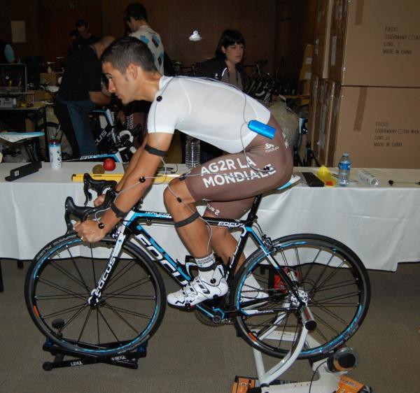Positionnement Lloyd Mondory stage Oliva 2014