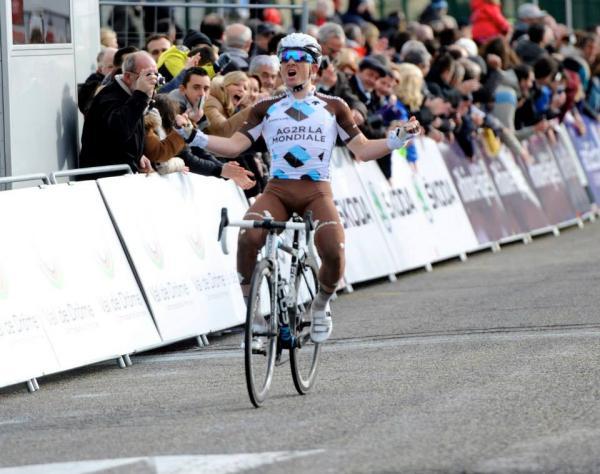 Samuel Dumoulin vainqueur 2015 la Drôme Classic