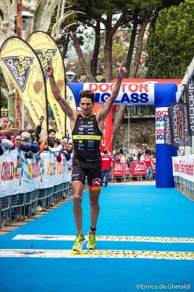 Victoire de Karl Shaw à Andora 2015