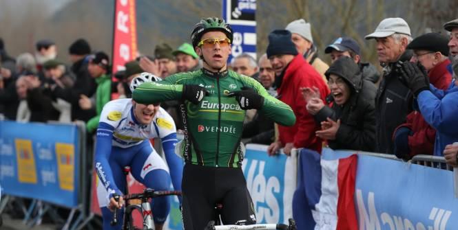 Bryan Coquard vainqueur 1ère étape 4 jours de Dunkerque 2015