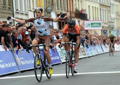Alexis Gougeard vainqueur 3ème étape des 4 jours de Dunkerque 2015