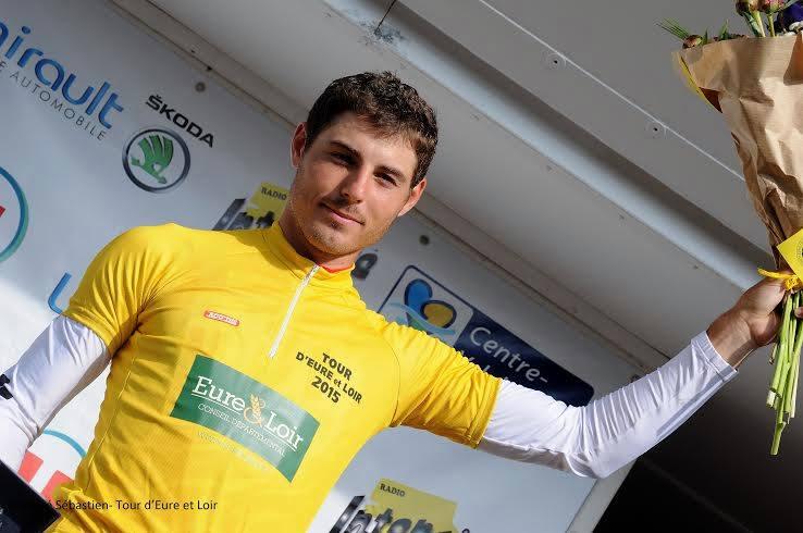 Victoire de Romain Cardis sur le Tour d'Eure et Loir 2015