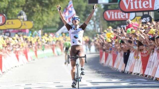 Alexis Vuillermoz vainqueur à Mûr de Bretagne : TDF 2015