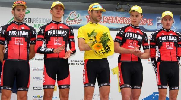 Sylvain Georges vainqueur Tour d'Auvergne 2015