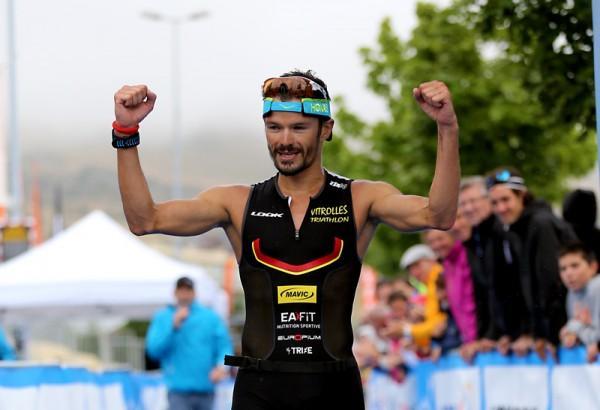 Frédéric Belaubre vainqueur Alpe Huez 2015