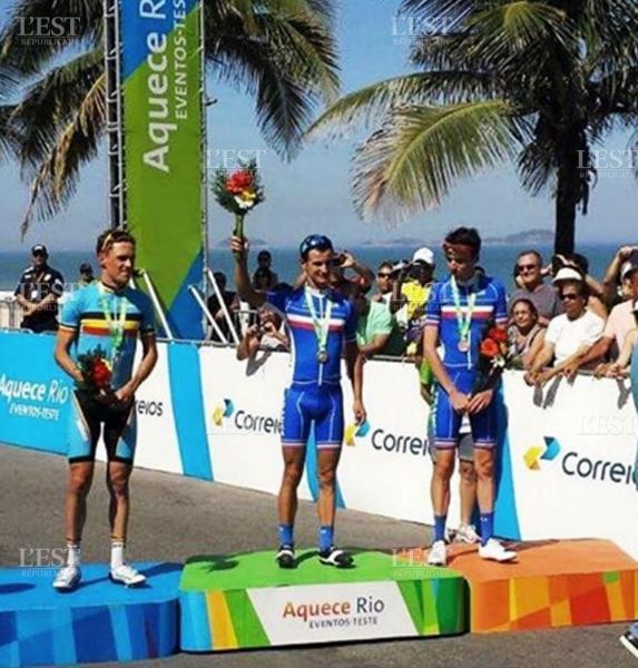Alexis Vuillermoz vainqueur test event Rio 2016
