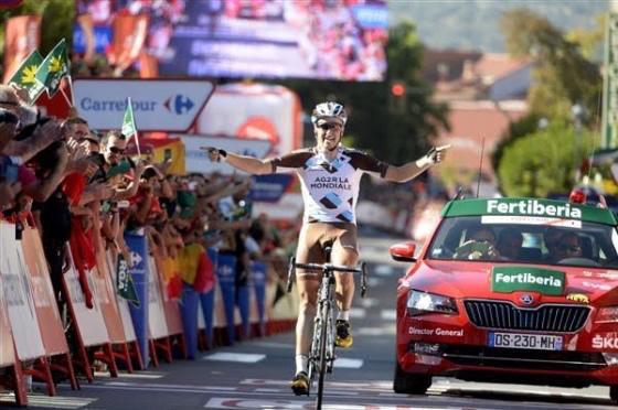 Alexis Gougeard victoire sur la Vuelta 2015